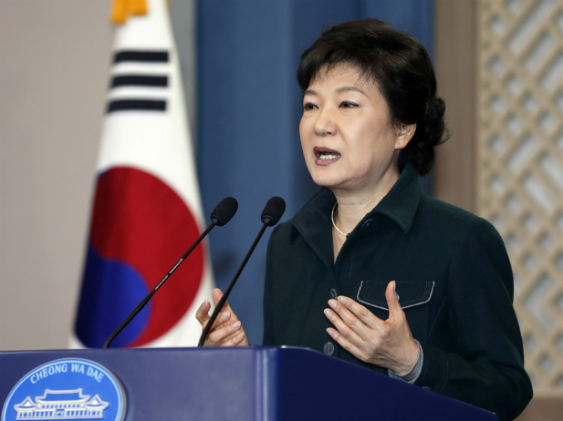 South Korean president expelled from office