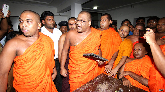 Buddhist extremists attack moderate monk in Sri Lanka