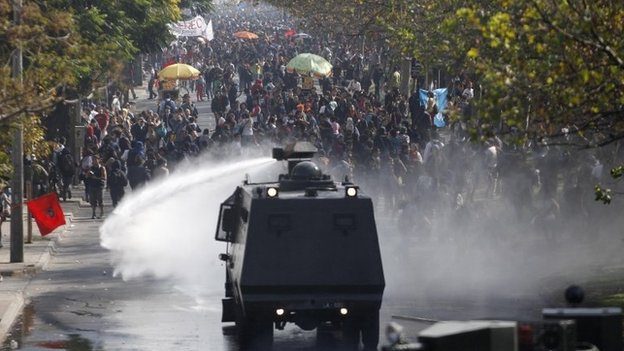 London set to receive water-cannon vehicles next week