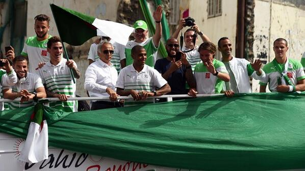 Algeria football team donate prize money to people of Gaza