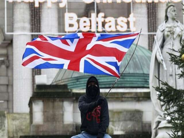 In tense north Belfast, Brexit raises funding concerns
