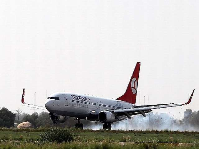 Turkish Airlines plane to Tel Aviv turns back