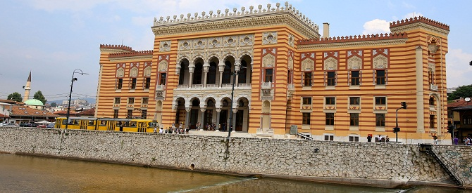 Historic library in Sarajevo reopened