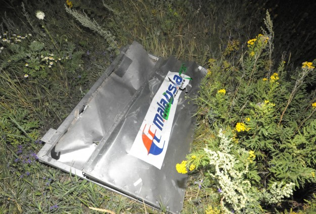 Many 'high-energy' objects brought MH17 down