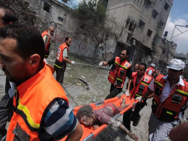 At least 15 dead in Israeli shelling of Gaza school -UPDATED