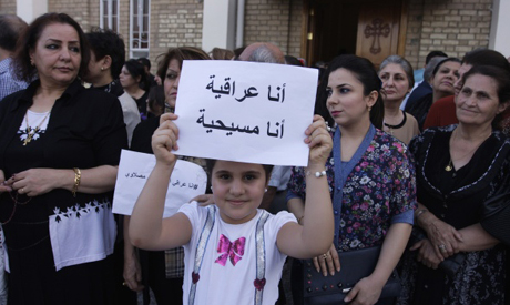 Muslims and Christians march against ISIL in Baghdad