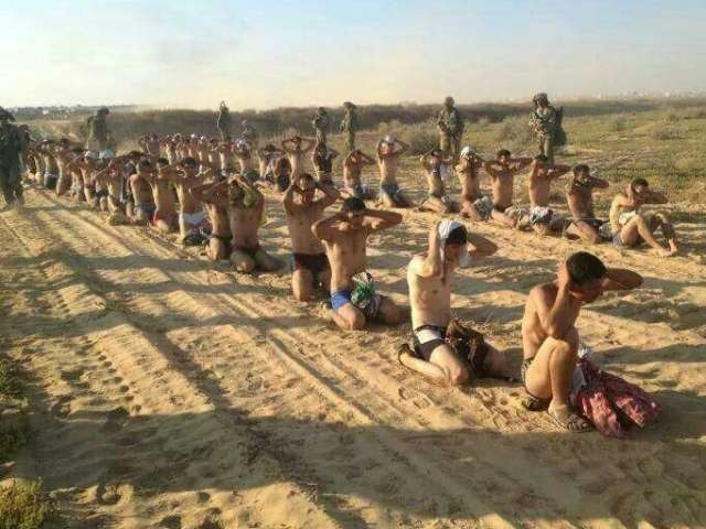 Israel detains scores of Palestinians in Gaza