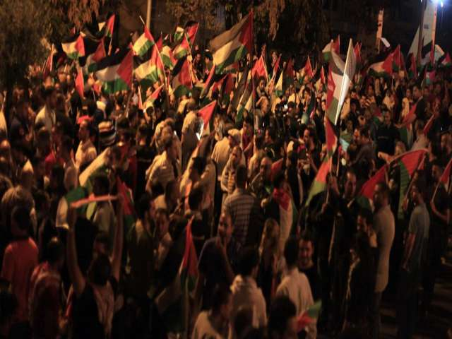 West Bank glows with anger over Gaza destruction