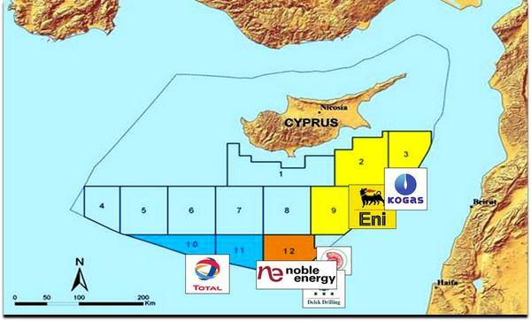 Turkish Cypriots to Greek Cypriots: Cut gas deal or forfeit peace deal