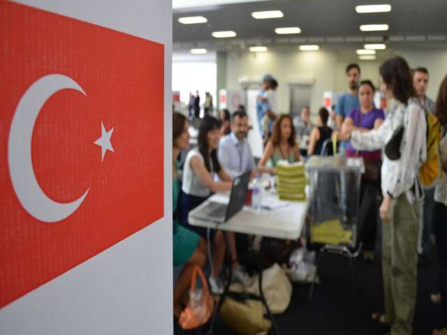Majority of Turkish expat votes go to Erdogan