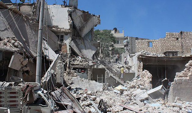 Syrian regime barrel bomb attack kills 65 civilians