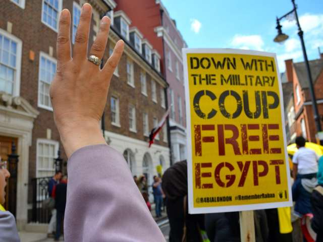 Group calls for uprising in Egypt's universities