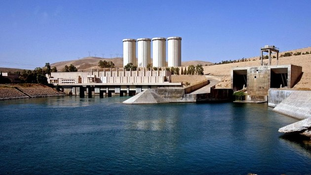 Kurdish, Iraqi forces in control of Mosul dam