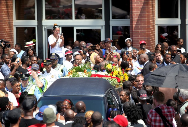 Michael Brown remembered in Missouri with calls for justice