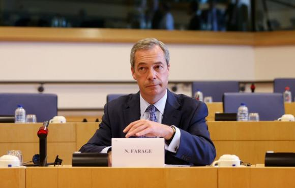 UK's Farage says EU's Barnier doesn't get Brexit