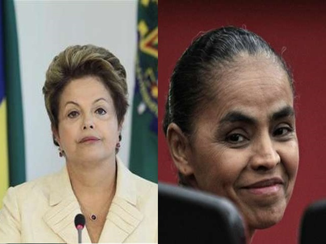 Brazil's Rousseff gains on Silva a week from election