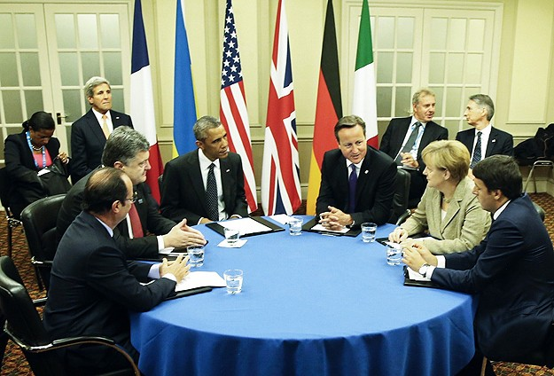 Ukraine summit blocked by failure to implement truce fully