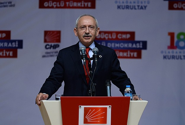 Turkey's opposition re-elects party leader -UPDATED