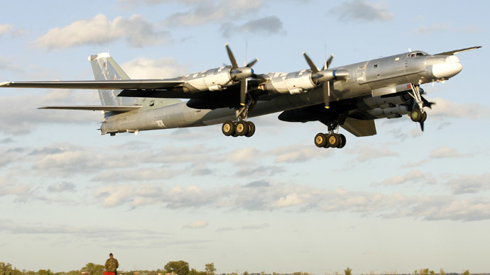 Russian war planes practice 'nuclear strike' on US