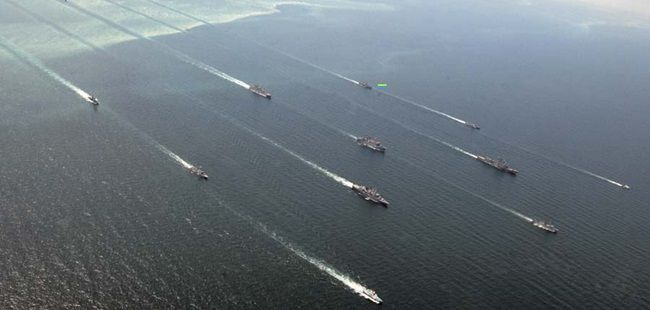 Ukraine, US hold joint naval drill in Black Sea