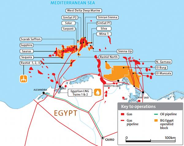 RWE Dea wins two Egyptian offshore concessions