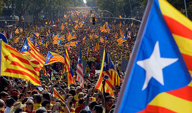 Catalan parliament votes for secession from Spain