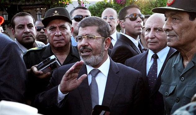Morsi says he is still Egypt's 'president'