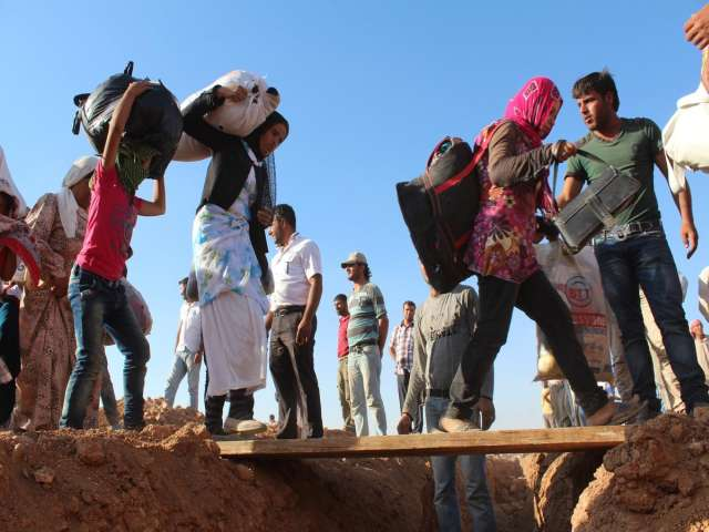 UN: 13.6 million displaced by wars in Iraq and Syria -UPDATED