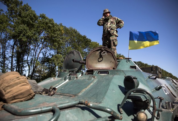 Ukraine accuses rebels of violating 'Day of Silence'