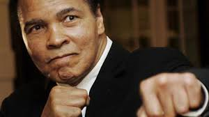 Muhammad Ali barely able to speak