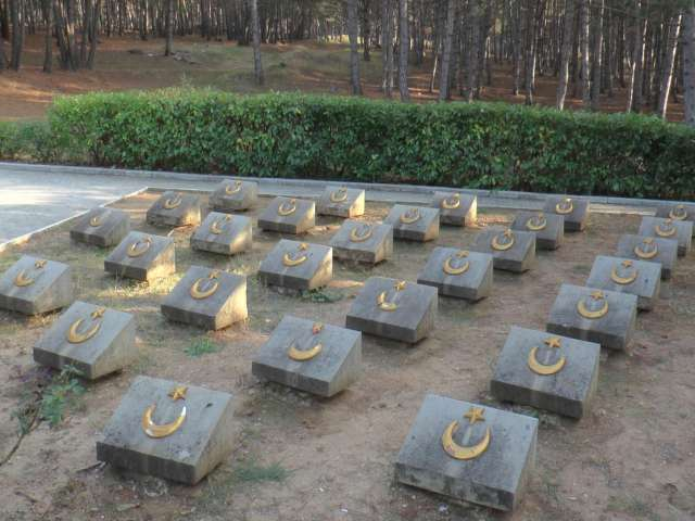 Turkish cemetery attacked in Russia-annexed Crimea