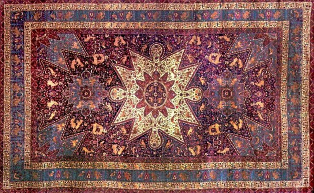 White House exhibits 'Armenian orphan rug'