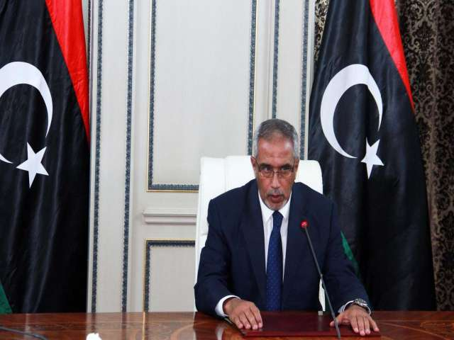 Rival Libyan PM meets Turkish envoy -UPDATED