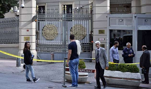 Suspicious powder sent to consulates in Istanbul shows no signs of biological agent