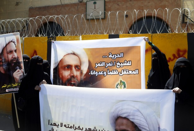 Saudi Arabia threatened over Shiite leader's death term