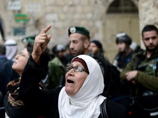 Palestinian anger boils in the heart of East Jerusalem /PHOTO