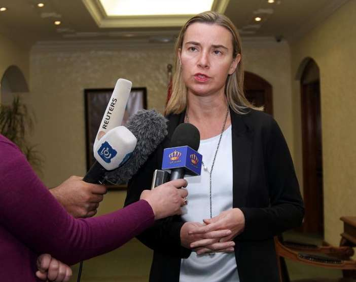 EU's Mogherini expects no talk of Russia sanctions at summit