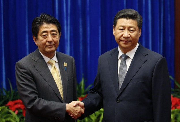 China's Xi, Japan's Abe hold landmark meeting at APEC