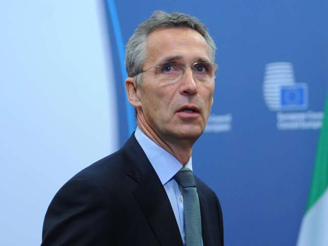 NATO not in an arms race with Russia