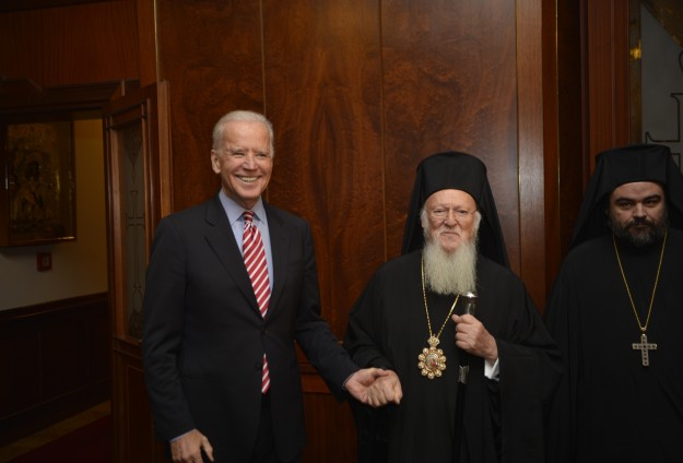 US Vice President visits Orthodox Patriarchate