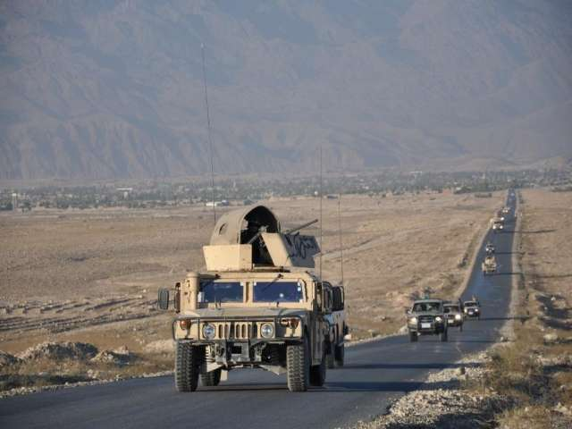 Two blasts hit Kabul, seven Afghan soldiers wounded