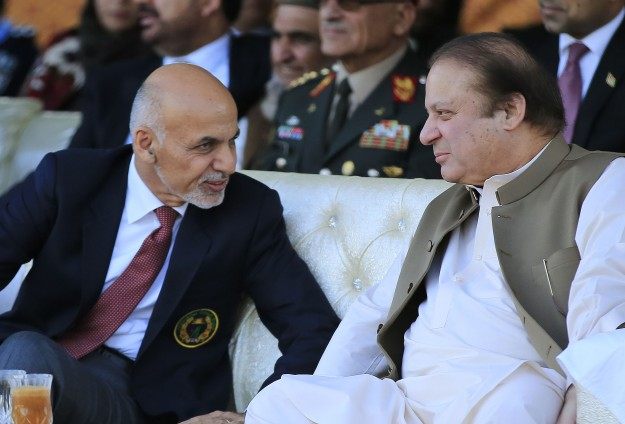 Pakistan intelligence chief meets Afghan leader