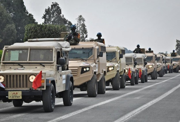 Egypt entertainers face grilling for 'offending army'