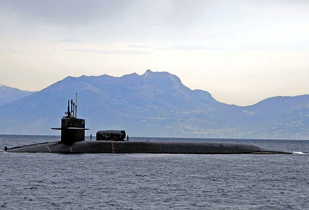 British Navy fires nine sailors from nuclear submarine