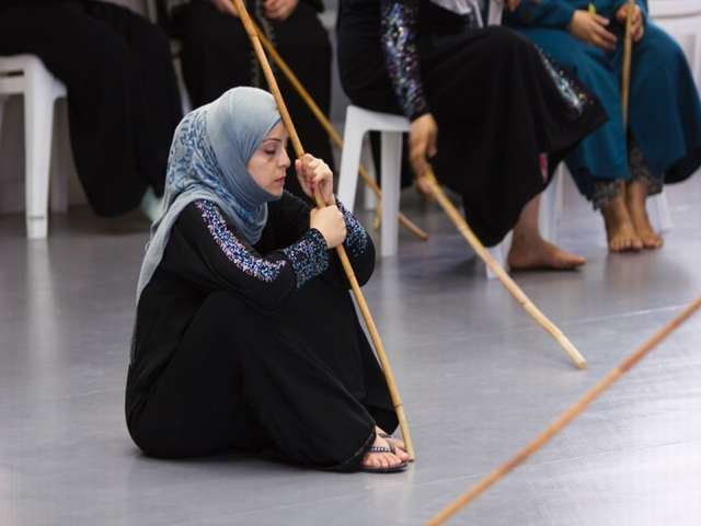Syrian refugees find catharsis on ancient Greek play