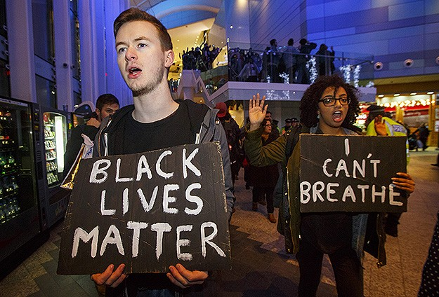 Anti-police brutality hashtags dominate social media in 2014