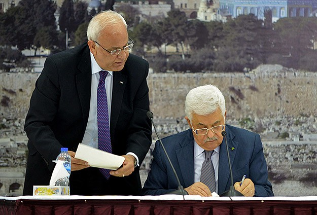 Abbas rolls statehood dice with ICC move