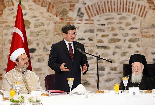 Turkish PM urges stand against religious discrimination