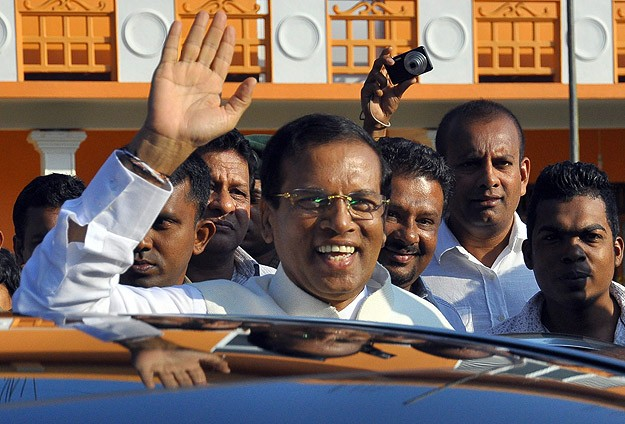 Sri Lanka's president voted out after decade in power