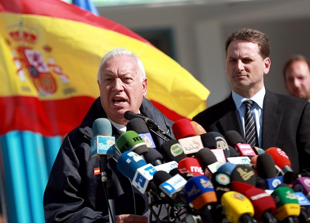 Spanish FM voices support for Gaza reconstruction